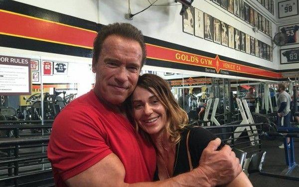 Arnold est un grand fan